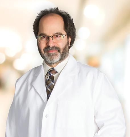 James Aceto, MD lab coat photo