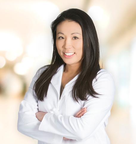 Erica Berg, MD lab coat photo
