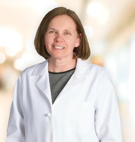 Debra Berridge, MD lab coat photo