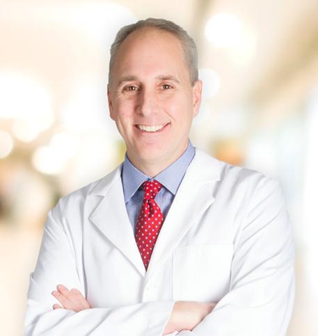 Eric Dorn, MD, FACR lab coat photo