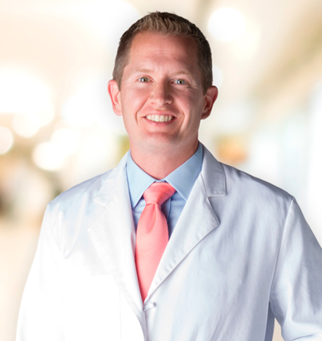 Tim Enright, MD lab coat photo