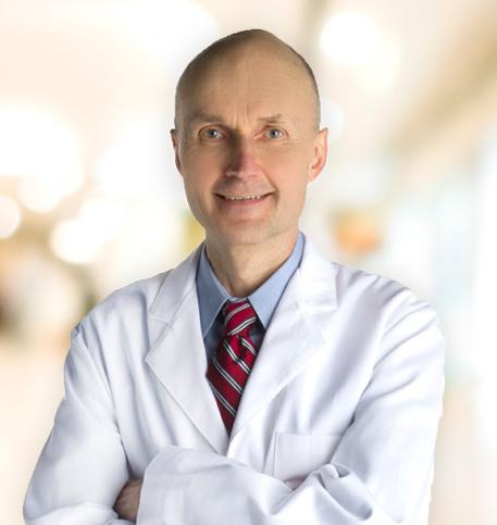 James Beres, MD lab coat photo