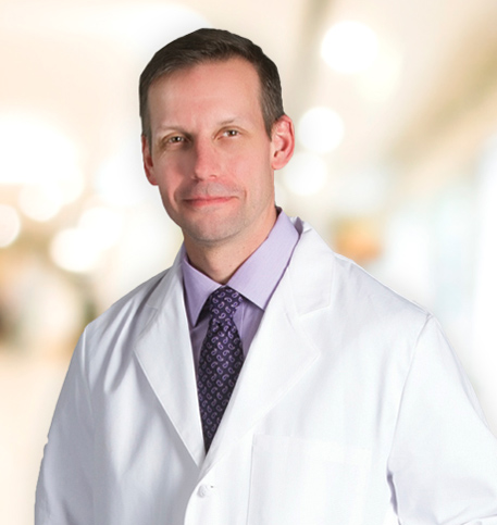 Jim Gehl, MD lab coat photo