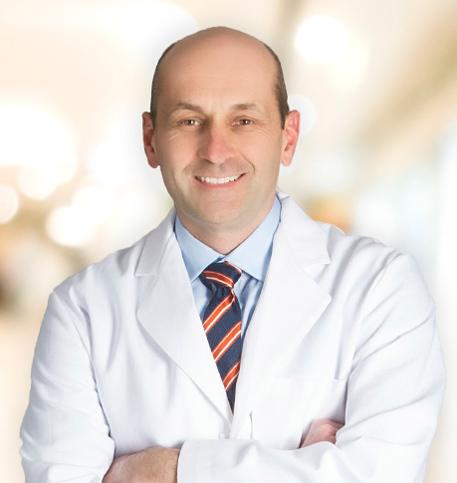 John Tomashek, MD lab coat photo