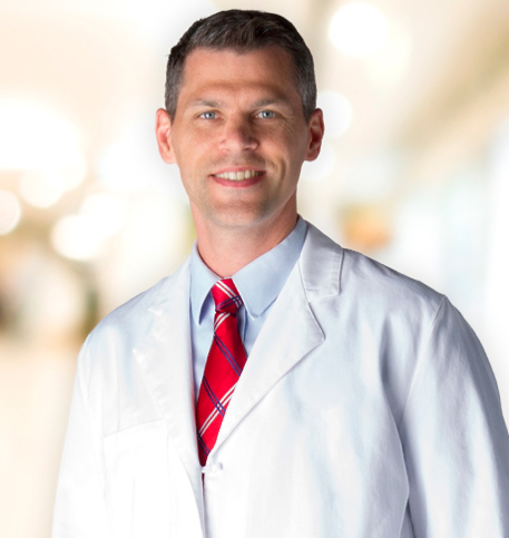Josh Bonis, MD lab coat photo