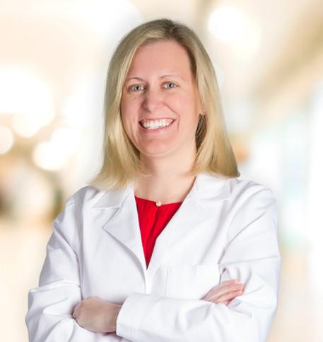 Katherine Troy, MD lab coat photo