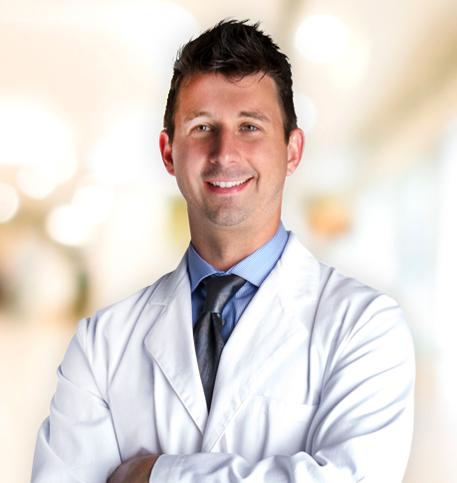 Daniel Knapp, MD lab coat photo