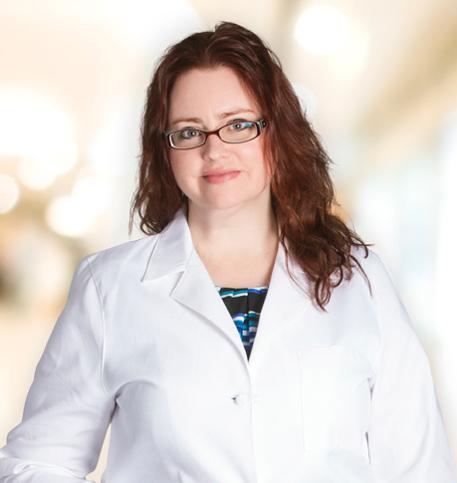 Nicole Viccari, MD lab coat photo
