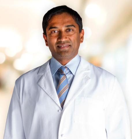 Shirish Patel, MD lab coat photo