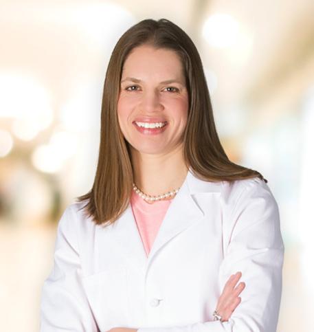 Rachel Loomans, MD lab coat photo