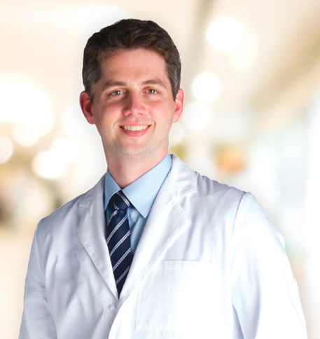John Raseman, MD lab coat photo
