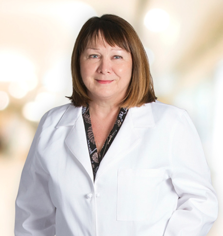 Cynthia Rice, MD lab coat photo