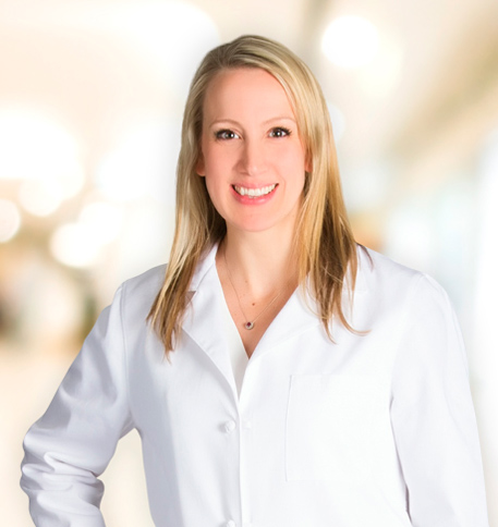 Carla Shah, MD lab coat photo